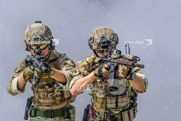 عکس نیروی های مسلح نظامی