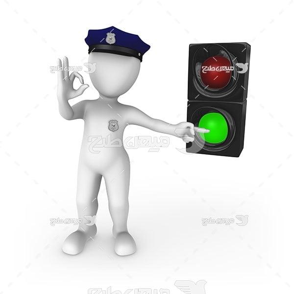 عکس پلیس راهنمایی و رانندگی