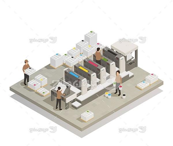 وکتور واحد چاپ