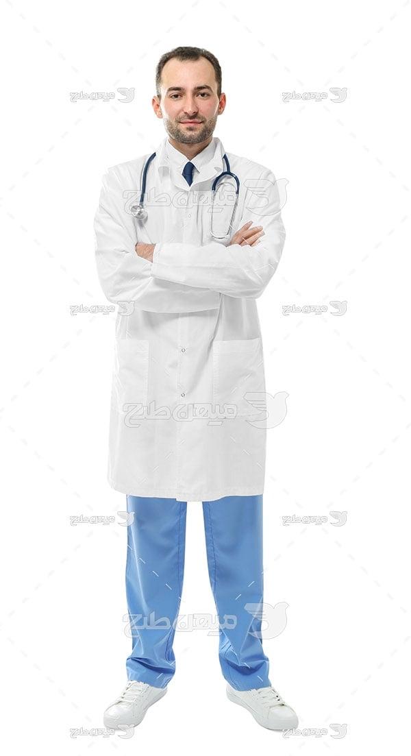 عکس تبلیغاتی پزشکی و طبیب