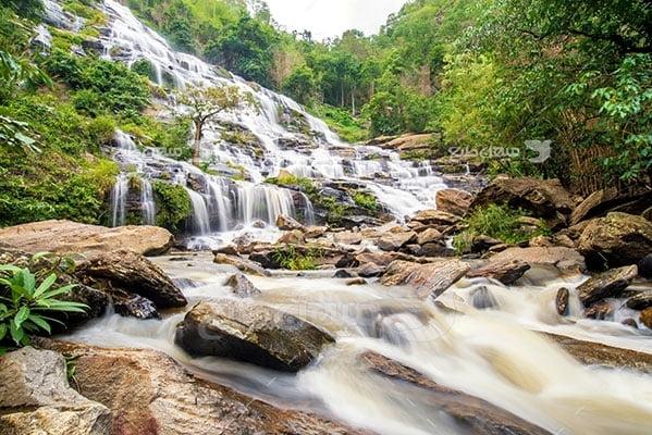 عکس تبلیغاتی طبیعتکوهستان جنگلی