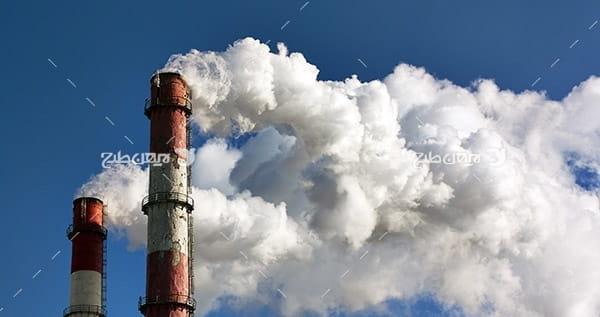 تصویر صنعتی از شرکت پتروشیمی و دود
