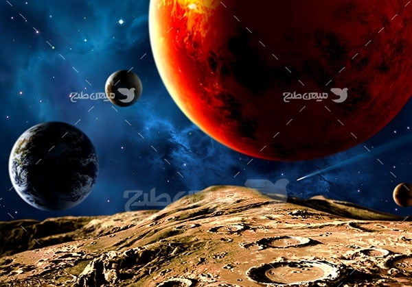 عکس سیاره ها