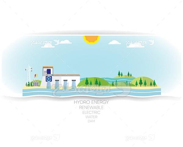 وکتور طبیعت و تولید انرژی