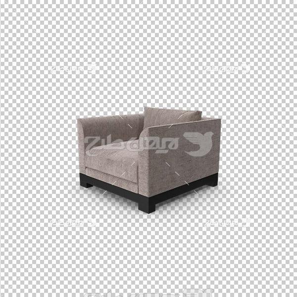 تصویر دوربری سه بعدی مبل
