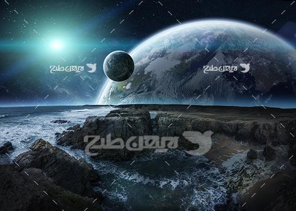 عکس فضا و سیارات