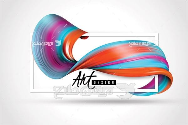 وکتور رنگ آمیزی و نقاشی
