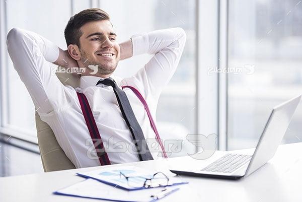 عکس کامپیوتر و انسان