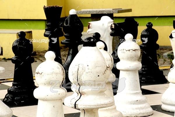 عکس مهره های شطرنج