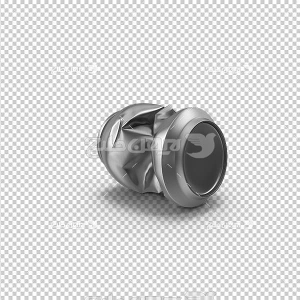 تصویردوربری سه بعدی قوطی نوشیدنی