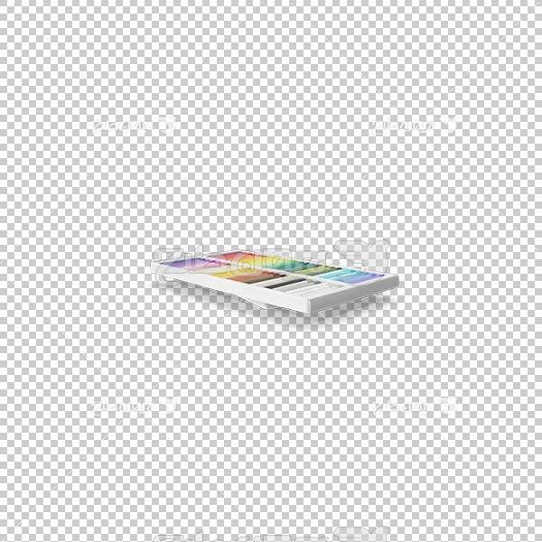 تصویر سه بعدی دوربری مداد رنگی