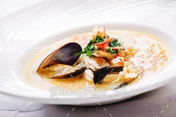 غذایی دریایی صدف