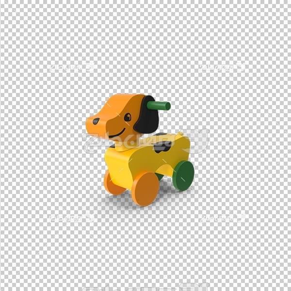 تصویر دور بری سه بعدی اسباب بازی