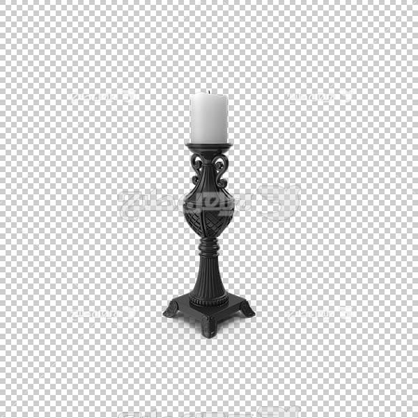 تصویر سه بعدی دوربری شمعدان