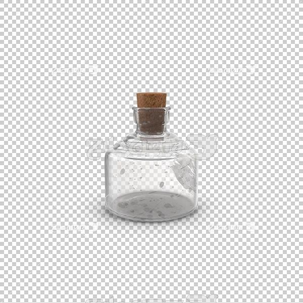 تصویر سه بعدی دوربری بطری دربسته