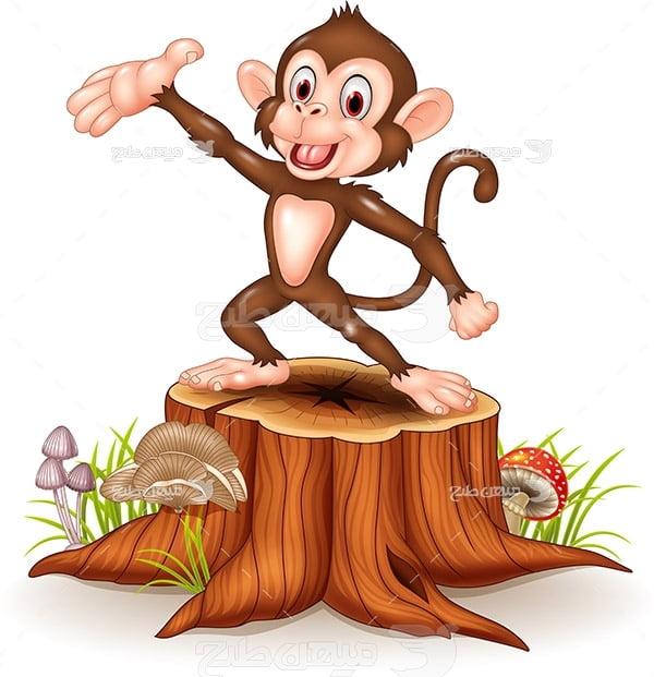 وکتور گرافیکی میمون