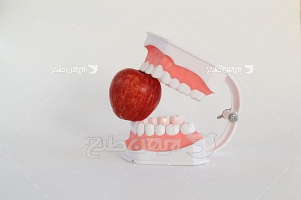 عکس دندان مصنوعی