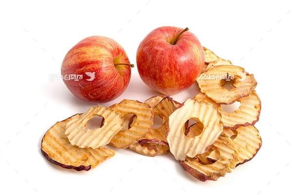 عکس سیب و سیب بریده شده