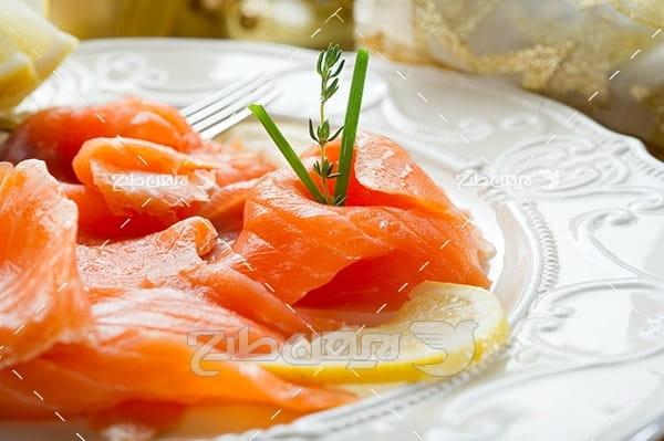 ماهی،گوشت ماهی,غذای ماهی سبزیجات