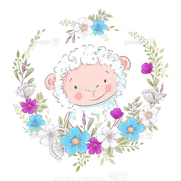 وکتور گوسفند