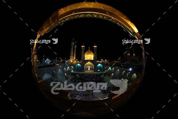 عکس زیبا از حرم امامین عسکریین