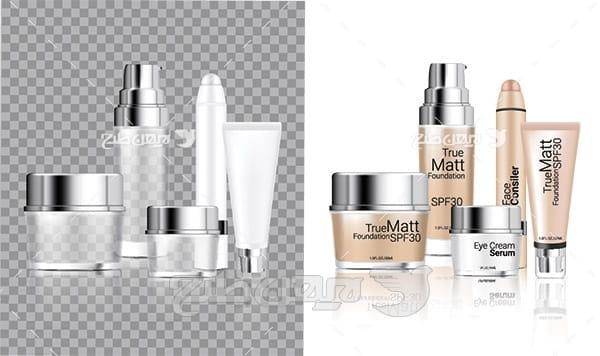 وکتور محصولات آرایشی بهداشتی
