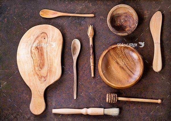 تصویر وسایل آشپزی