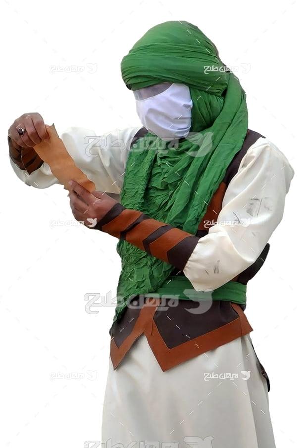 عکس امام در تعزیه