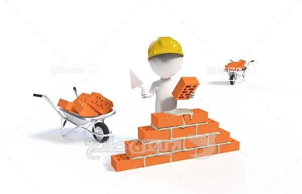 صنعت و حمل و نقل کاراکتر کارگر