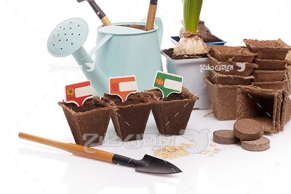 لوازم کشاورزی و گلدان