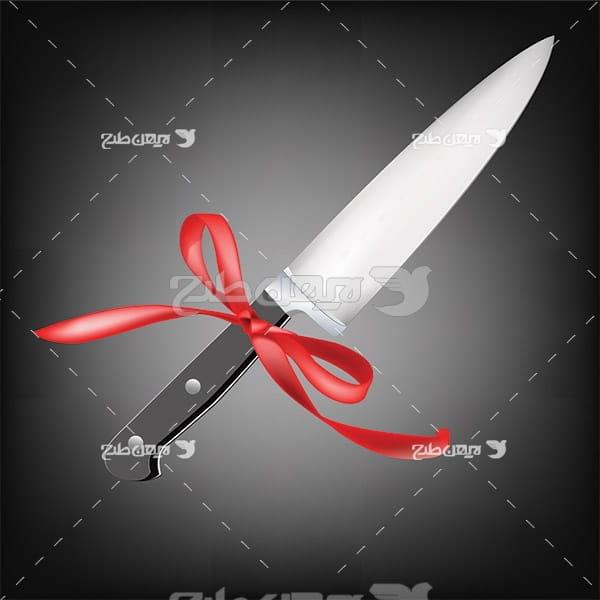 وکتور چاقوی آشپزخانه