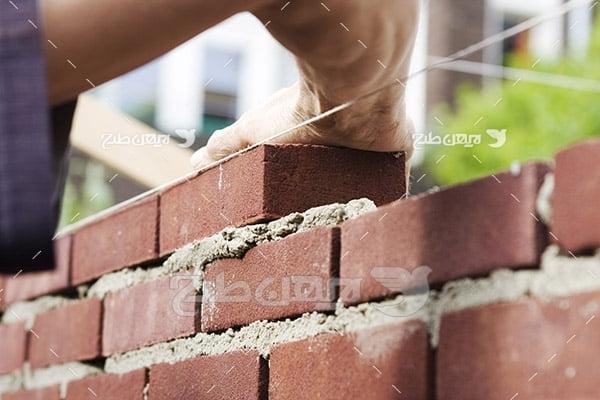 صنعت و حمل و نقل ساخت دیوار آجری
