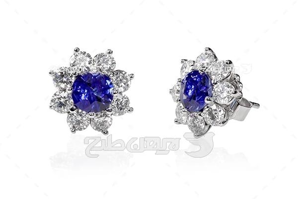 گوشواره الماس