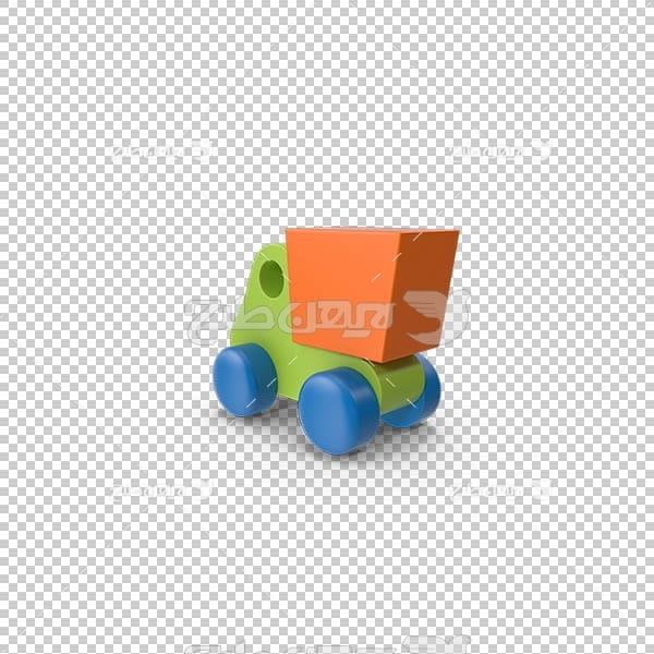 تصویر سه بعدی دوربری ماشین اسباب بازی
