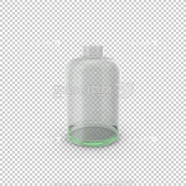 تصویر سه بعدی دوربری ظرف شیشه ای