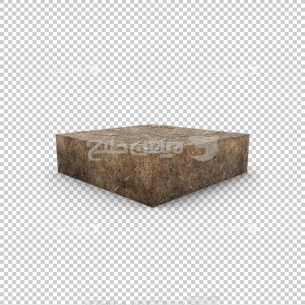 تصویر سه بعدی دوربری سنگ برش خورده