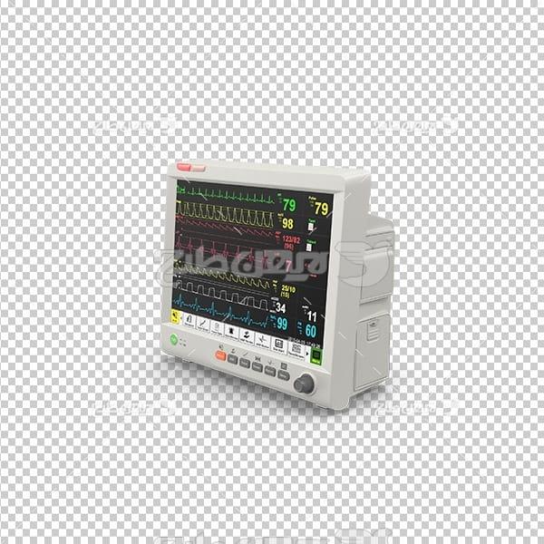 تصویر دوربری سه بعدی دستگاه نوار قلب