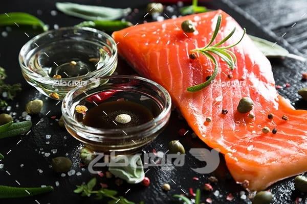عکس گوشت ماهی