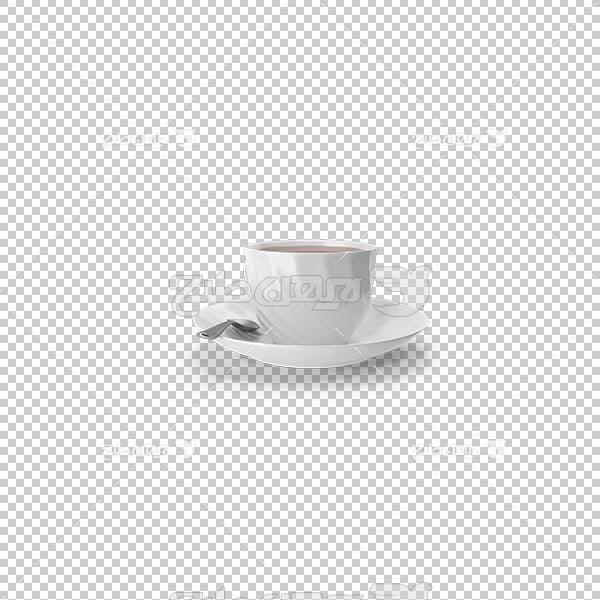تصویر سه بعدی دوربری استکان قهوه