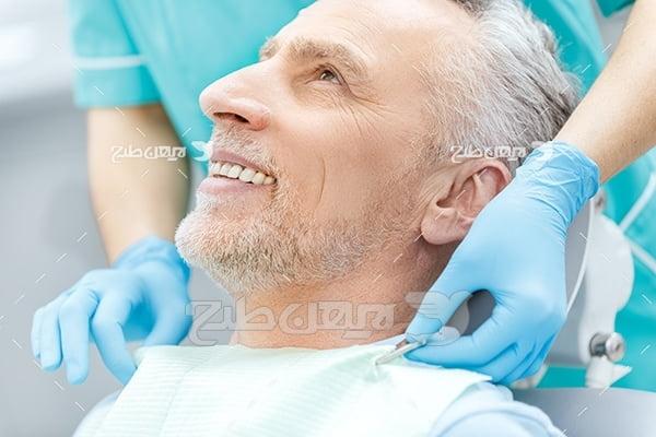 عکس بیمار دندانپزشکی
