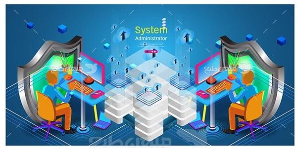 وکتور اسلایدر وب و سیستم مدیریتی