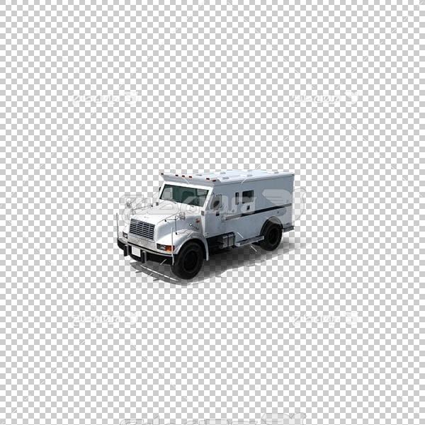 تصویر سه بعدی دوربری کامیون