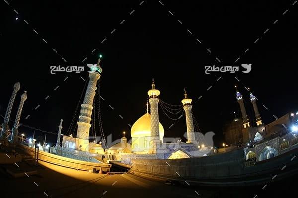 عکس زیبا از حرم امامین عسکریین(ع)