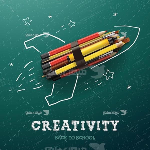 وکتور مداد فضاپیما