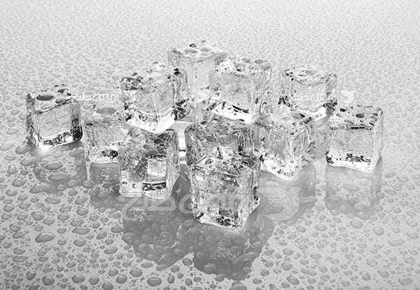 عکس پشت زمینه یخ