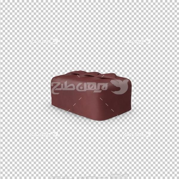 تصویر دوربری سه بعدی کاکائو