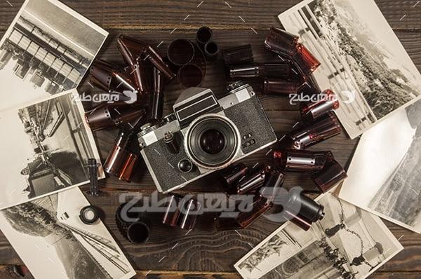 عکس دوربین قدیمی و نوار