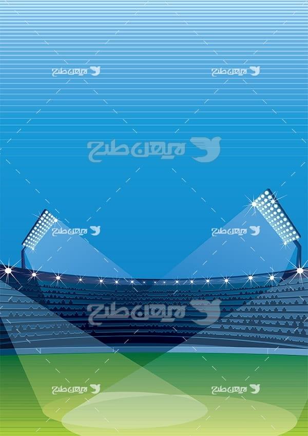 وکتور استادیوم ورزشی