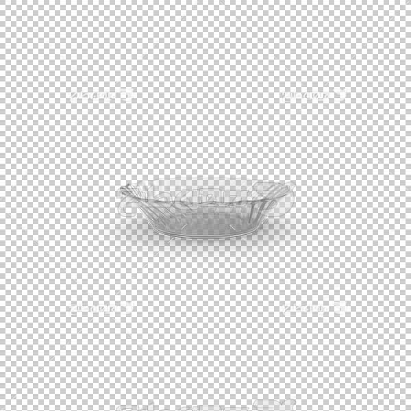 تصویر سه بعدی دوربری ظرف کریستال