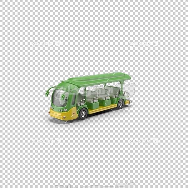 تصویر سه بعدی دوربری اتوبوس